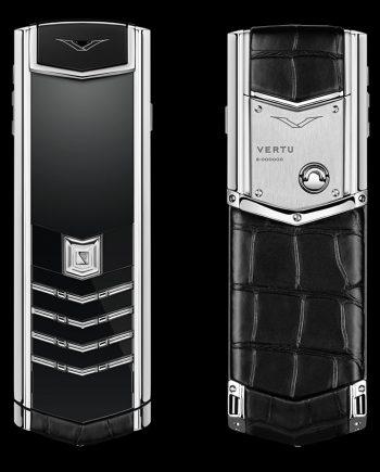 black-alligator-stainless-steel